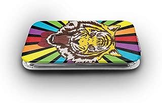 Cookfun Yuri Plisetsky Tiger Makeup Mirror Mini Pocket Mirror (Rectangle)