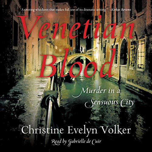 Venetian Blood audiobook cover art