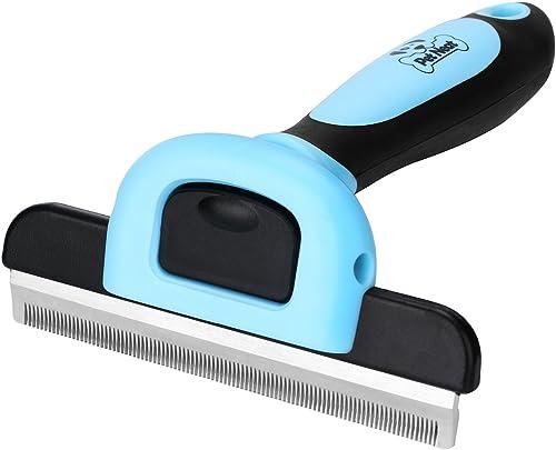 Kimnny Pet Grooming Tool Pet Dog Cat Long Short Thick Hair Fur Shedding Remove Grooming Rake Comb Brush