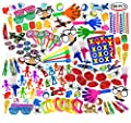 Smart Novelty Super Jumbo Toy Assortment Includes A Vast Variety of Over 200 Toys and Prizes for Parties, School Classroom Rewards, Carnival Prizes, Doctors/Dentists Office Prize Box Fillers (Sold from Smart Novelty