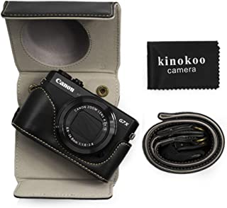 Kinokoo - Funda de piel sintética para Canon PowerShot G7 X Mark II funda protectora para cámara Canon G7X2/G7X II