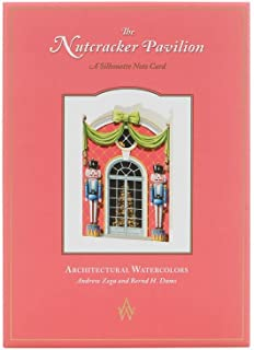 Architectural Watercolors Note Cards & Envelopes, The Nutcracker, Set of 8, 4.75