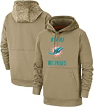 Dunbrooke Apparel Miami Dolphins 2019 Salute to Service Therma Pullover Hoodie