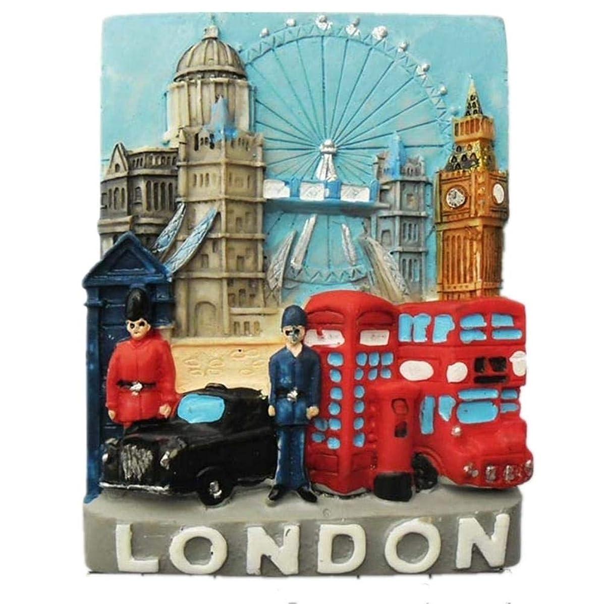 和縫い目極めて重要なロンドンイングランドイギリス冷蔵庫用マグネットステッカー3D手作り樹脂旅行ギフトお土産コレクションデコレーション
