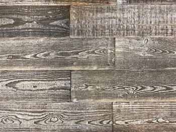 Smart Paneling 11332 Thermally-Modified Barn Wood Wall Planks Gray 12 Piece