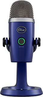 Blue Yeti Nano Premium USB Mic for Recording and Streaming - Vivid Blue