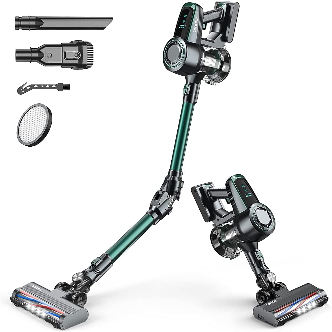 Max 40% OFF Laresar Cordless Vacuum Cleaner Mail order 25KPA Suction Powerful Stick Va