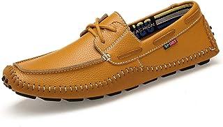 ZXL Mocassins décontractés pour hommes, mocassins à lacets, chaussures, chaussures bateau, chaussures de conduite légères ...