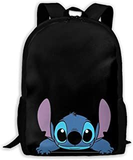 Custom Stitch Casual Backpack School Bag Travel Daypack Gift