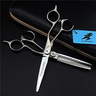 Professional Hair Snijden Schaar 6,0 Inch 440C Stainless Steel Set, Japan High Quality Finger Rest Kappers Schaar Voor Sal...