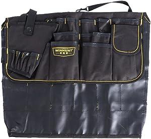 Haotfire Garden Tote Bag, Gardening Tool Kit Storage Holder Oxford Bag Home Organizer Tote Lawn Yard Bag