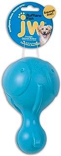 JW Pet Company Ruffians Fish Dog Toy, Large (Colors Vary)