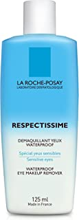 La Roche-Posay Respectissime Waterproof Eye Makeup Remover, 4.2 Fl Oz, Pack of 1