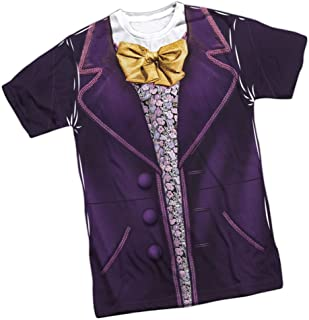Wonka Costume - Willy Wonka and The. Front Print T-Shirt