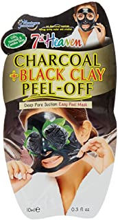 7th Heaven Claire's Girl's Charcoal & Black Clay Deep Pore Peel-Off Face Mask