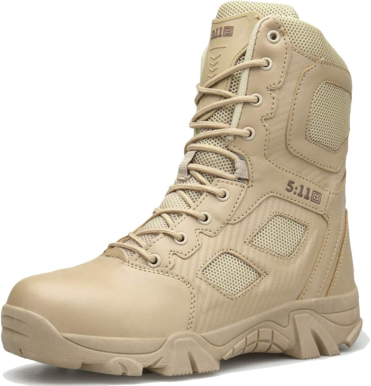 Winter Chelsea Men's Snow Boots Men's Anti Slip Waterproof shoes Lined Warm Military Booties Size  38-47