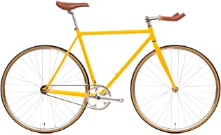 State Bicycle 4130 Chromoly Steel Fixed Geared Bike | Single Speed Bullhorn Handlebar