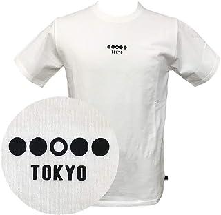 [BMC ブルーモンスタークロージング] MOTION Tシャツ メンズ 半袖 コットン100% オリジナルプリント ホワイト/ブラック M-3Lサイズ TM01M