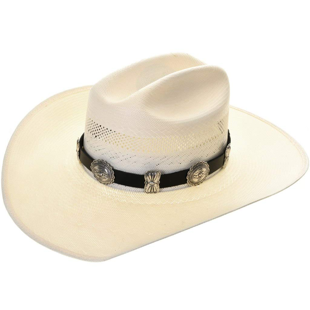 Old Pawn Style Silver Concho Sterling 0001 Hatband Las Vegas Mall Sales of SALE items from new works Navajo Design