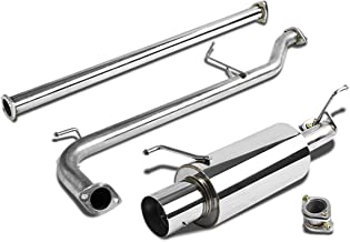 For Honda Accord Catback Exhaust System 4 inches Tip Muffler - CG