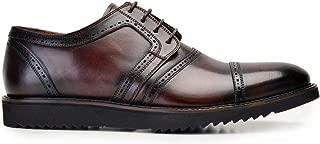7998-257 EXLSPO-Antik Kahve 202 Nevzat Onay Bağcıklı Kahverengi Günlük Deri Erkek Ayakkabı