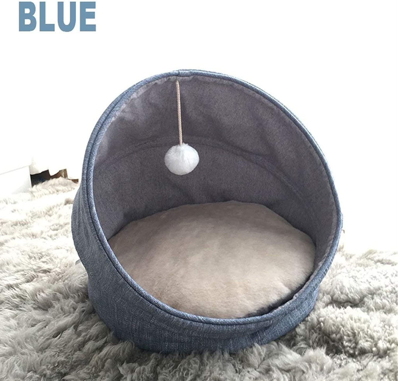 LYLa Foldable Pet Nest Fashion Summer Cat Nest House Closed Cat House Cat Bed