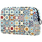 Bolsa de cosméticos Bolsa de Maquillaje para Mujer para Viajar Llevar cosméticos Cambiar Llaves, etc.,Marruecos
