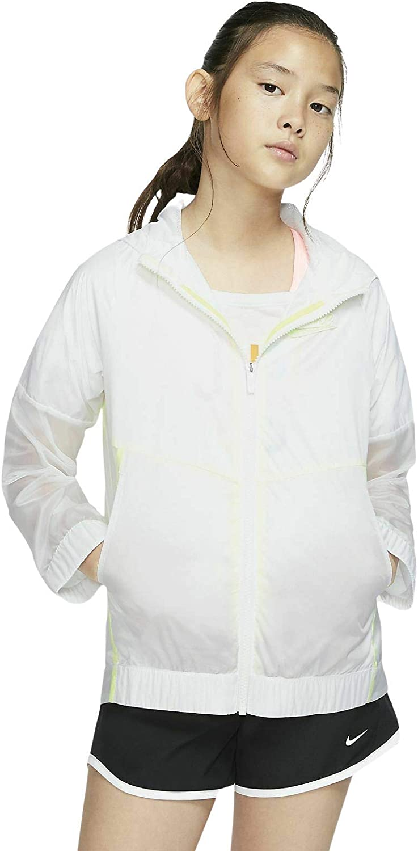 Nike Girls Sportswear Windrunner Kids' Jacket Size XS