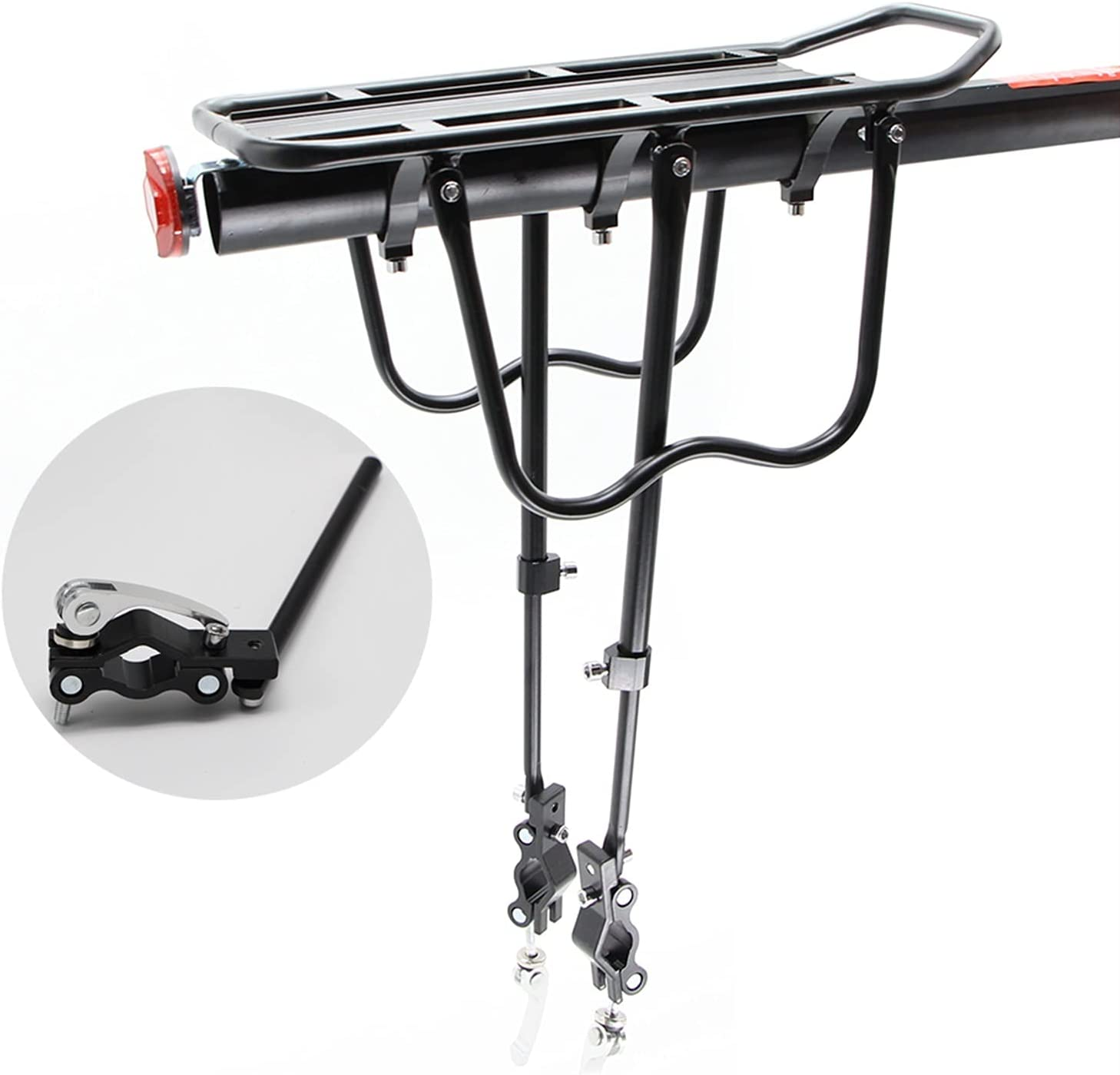 JSJJATQ Bicycle Mesa Mall Rear Rack 100KG Luggage Carrier Cargo Re Outlet SALE