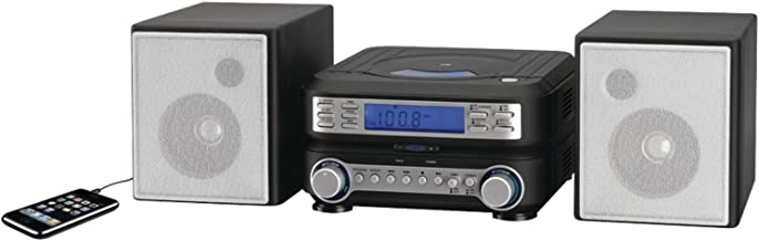 gpx compact disc player with am/fm radio