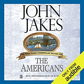 The Americans audiobook cover art