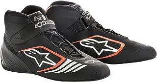 Alpinestars 2712118-156-10 Tech 1-KX Shoes, Black/Orange Fluorescent, Size 10