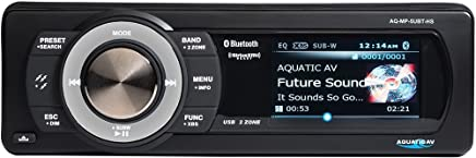 AquaticAV AQ-SWA8-6BT Compact Marine Subwoofer w// Bluetooth and Speaker outputs