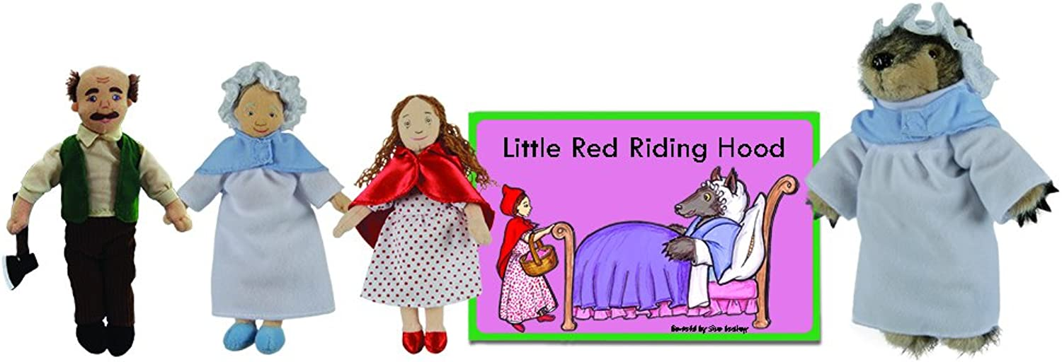 The Puppet Company PC007904 Traditional Story Sets, Little Red Riding Hood