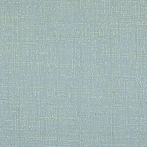 McAlister Textiles Harmony Tissu au Mètre en Lin pour Ameublement, Voilages et Couture - Bleu Lagon - 50cm x 140cm