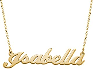 Best isabella name necklace Reviews