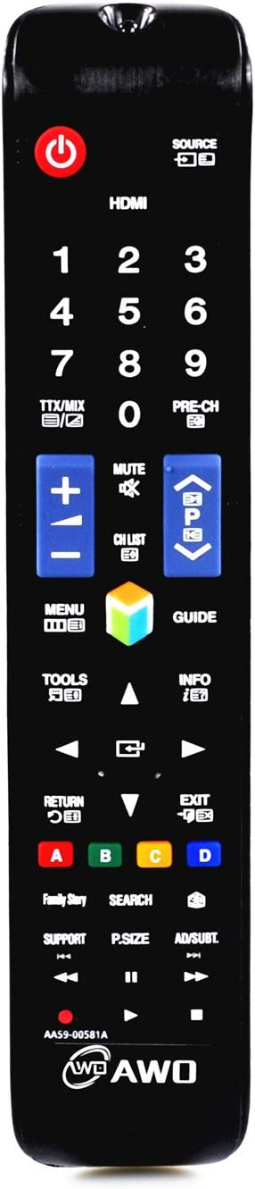 AWO AA59-00581A New Replacement Remote 3 for Samsung unisex Fit Control New York Mall