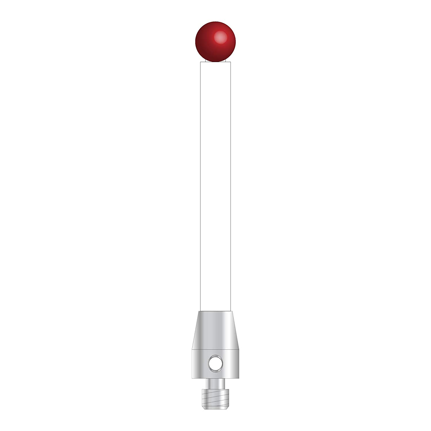 NEW before selling TM4-6053-C - M4 Stylus with 6.0 Ceramic Al sold out. Ball stem Ruby and mm