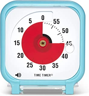Time Timer Original 3 inch; 60 Minute Visual Timer – Classroom Or Meeting Countdown Clock for Kids and Adults (Sky Blue)