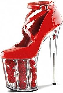 b2499e4f8d8638 GZYTY Été Plate-Forme imperméable Chaussures à Semelle épaisse Chaussures  Sexy mariée Mariage discothèque détestent