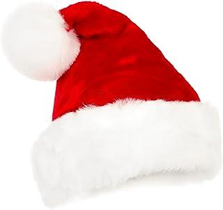 8a7ab2585cb3b Samber Chapeau de Noël Bonnet Père Noël Déguisement Noël Enfant Adulte Bébé  Fille Garçon A