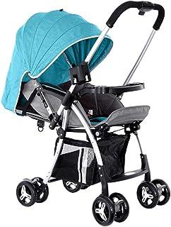 BABY PLUS BP8291 Baby Stroller Cum Pram, 0-36 Months - Green BP8291-GRN