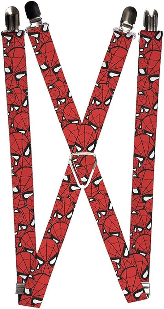 Buckle-Down Men's Suspender-Spider-Man