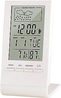 XYXZ Termómetro De Habitación Higrómetro Digital De Interior Medidor De Habitación Termómetro De Monitor De Humedad para A...