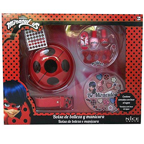 Nice Ladybug Miraculous-Pulsera Suerte Make-Up, 52004