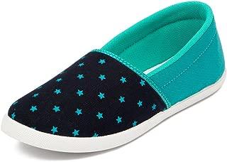 Asian shoes LR-91 NBLFRZ Canvas Ladies Shoes 5 UK/Indian