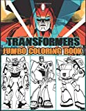Transformers Jumbo Coloring Book: 50+ Premium Coloring Pages for Kids and Adults Great Books for Any Fans of Transformers