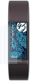 Bruni Skärmskydd är kompatibel med Acer Liquid Leap Film, kristallklart Skyddsfilm (2X)
