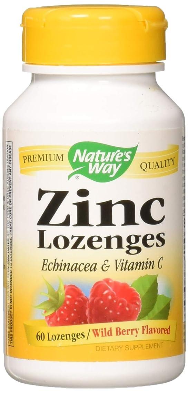 フォージ私達廊下Zinc/Echinacea&Vitamin C Lozenges-Berry Flavor Nature's Way 60 Lozenge by Nature's Way