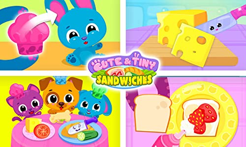 『Cute & Tiny Sandwiches - Quick Lunch For Baby Pets』の6枚目の画像